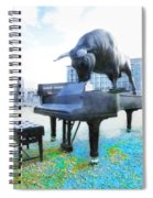 A World Of Art And Music Spiral Notebook