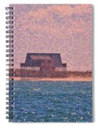 Abandon Fishing Cottage Spiral Notebook