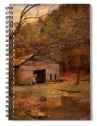Abandoned Barn Spiral Notebook