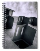 Abandoned Cities Of The Mind Spiral Notebook