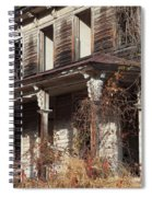 Abandoned Dilapidated Homestead Spiral Notebook