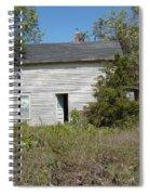 Abandoned Spiral Notebook