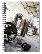 Abandoned Factory Spiral Notebook