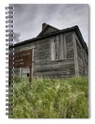 Abandoned Farm Spiral Notebook