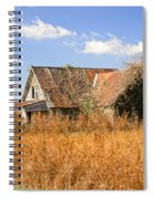 Abandoned Farmhouse 7 Spiral Notebook
