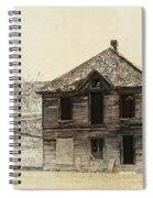Abandoned Homestead - Okanogan Washington Spiral Notebook