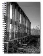 Abandoned Railway  Spiral Notebook