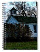 Abandoned School House Spiral Notebook