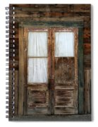 Abandoned Store Spiral Notebook