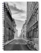 Abandoned Street Spiral Notebook