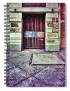 Abandoned Urban Building Spiral Notebook