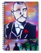 Abbott Kinney Spiral Notebook