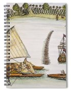 Abel Tasman Expedition 1643 Spiral Notebook