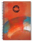 Aboriginal Ocean Spiral Notebook