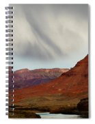 About To Rain Spiral Notebook