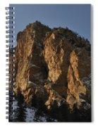 Above Red River I Spiral Notebook