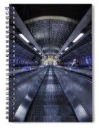Above The Below Spiral Notebook