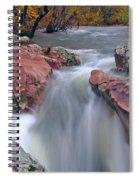 Above The Castor River Shut Ins II Spiral Notebook