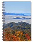 Above The Clouds Spiral Notebook