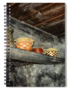 Above The Stove Spiral Notebook