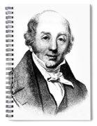 Abraham Colles, Irish Surgeon & Spiral Notebook