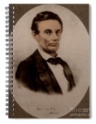 Abraham Lincoln, 16th American President Spiral Notebook