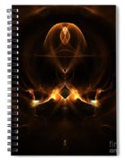 Absgtract Sixty-eight Spiral Notebook
