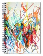 Prayer To Be Separated From Foolishness 7 Spiral Notebook