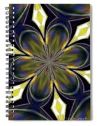 Abstract 004 Spiral Notebook