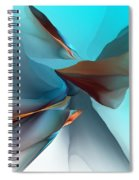 Abstract 011612 Spiral Notebook