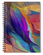 Abstract 021212 Spiral Notebook