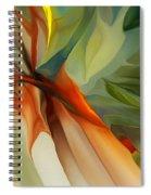 Abstract 021412a Spiral Notebook
