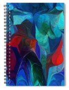 Abstract 021612 Spiral Notebook