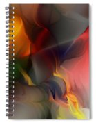 Abstract 021912a Spiral Notebook