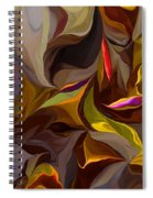Abstract 022212 Spiral Notebook