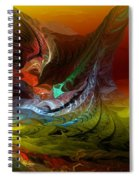 Abstract 022712 Spiral Notebook