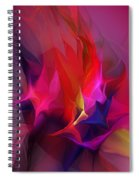 Abstract 031412 Spiral Notebook