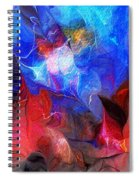 Abstract 032812a Spiral Notebook
