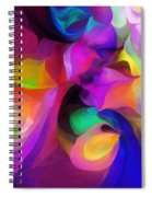 Abstract 041412 Spiral Notebook
