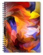 Abstract 050312 Spiral Notebook
