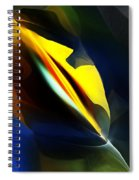 Abstract 051112 Spiral Notebook