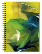 Abstract 052912 Spiral Notebook