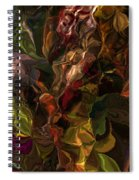 Abstract 061512 Spiral Notebook