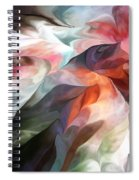 Abstract 062612 Spiral Notebook