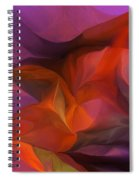 Abstract 071812 Spiral Notebook