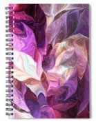 Abstract 072512 Spiral Notebook