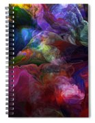 Abstract 072812 Spiral Notebook