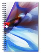 Abstract 081712 Spiral Notebook