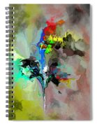 Abstract 082412-1 Spiral Notebook