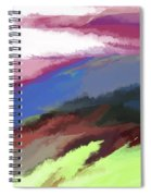 Abstract 082511 Spiral Notebook
